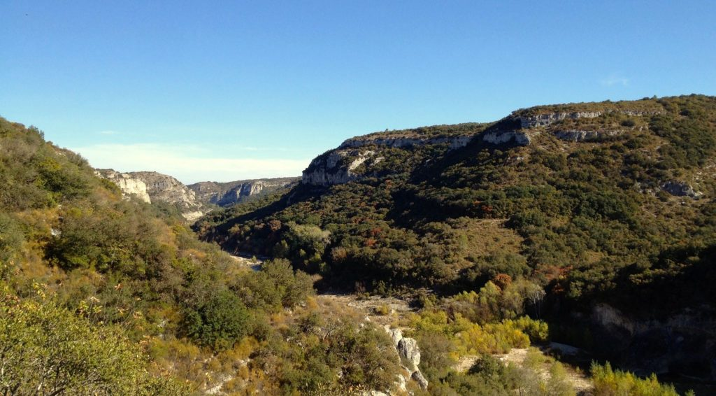 Panorama Gorges du Gardon